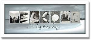 welcome3939 beach letter art framed personalized artwork With beach letter art photography