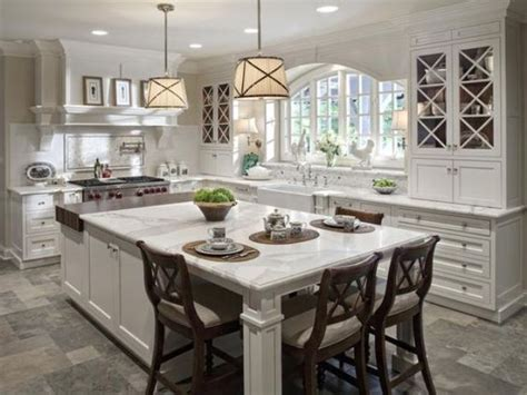 kitchen island with built in 30 kitchen islands with seating and dining areas digsdigs