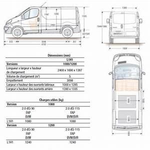 Dimension Renault Trafic 9 Places : renault trafic 3 fourgon blanc concarneau 2017 diesel 18 990 ~ Maxctalentgroup.com Avis de Voitures
