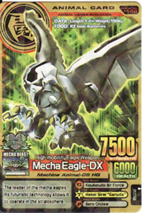 mecha eagle dx animal kaiser wiki fandom powered  wikia