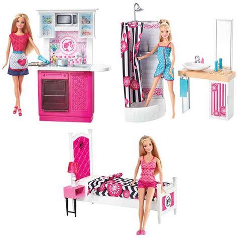 barbie doll furniture set assorted toys