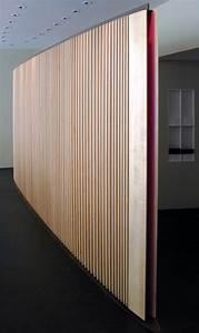 Architektur Und Design Zeitschrift : lamellenwand galerie architektur und design ~ Indierocktalk.com Haus und Dekorationen