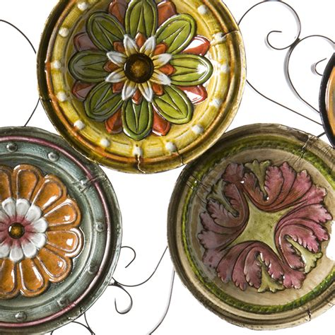 Tuscan Decorative Wall Plates by Sei Scattered Italian Plates Wall Wall