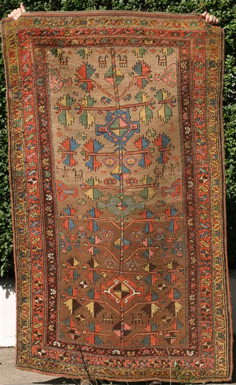 Rugs With by Bijar Rug With Baluch Type Tree Design