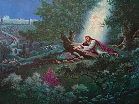 jesus praying garden gethsemane jesus prays