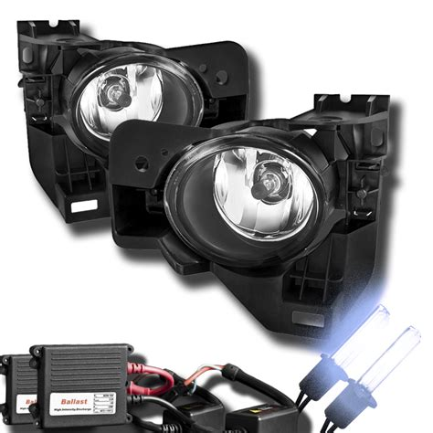 hid fog lights 09 12 nissan maxima oem clear fog lights hid kit