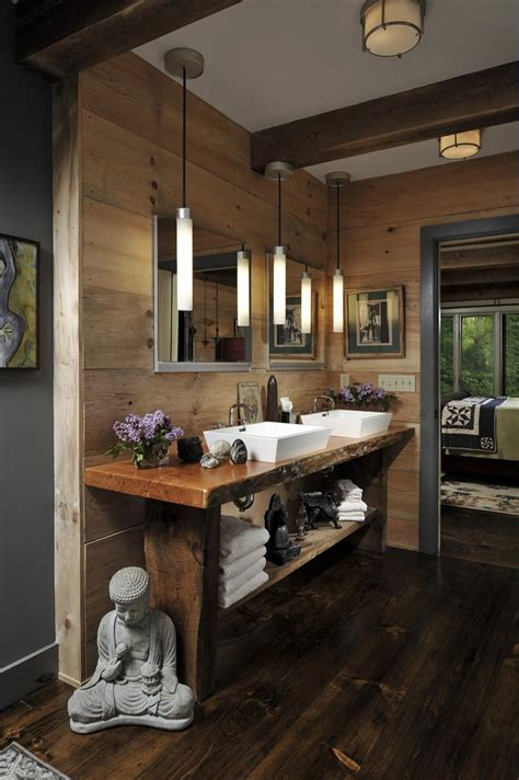 beautiful wood master bathroom designs page