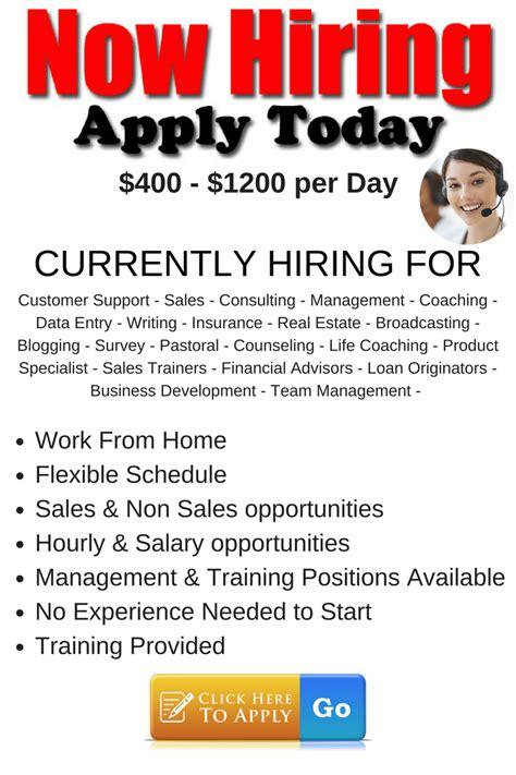 work from home sales work from home sales 2500 per week start today sales job employment