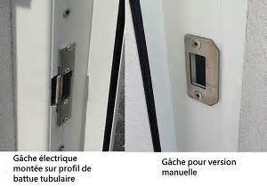 Gache Electrique Portillon Sans Fil : portillon aluminium sur mesure le portailalu ~ Dode.kayakingforconservation.com Idées de Décoration