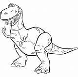 Toy Rex Coloring Colorear Dibujos Colouring Pintar Colorare Toys Printable Dinosaurio Disney Disegni Toystory Sheets Ausmalbilder Woody Imagui Dinosaur Malvorlagen sketch template