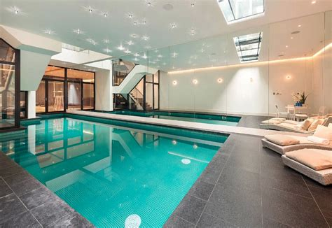 million home  london  indoor pool homes
