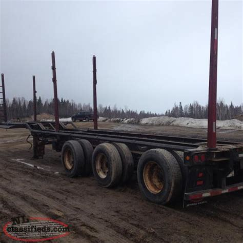 pulpwood trailers middle arm newfoundland