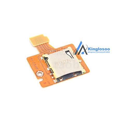 Do i require a memory card? Original Used TF memory card slot module Replacement part for Nintendo Switch NS console-in ...