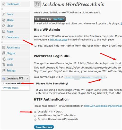 Lockdown Wp Admin Plugin Review