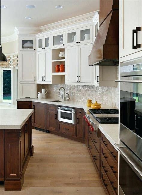 white upper cabinets wood  google search walnut