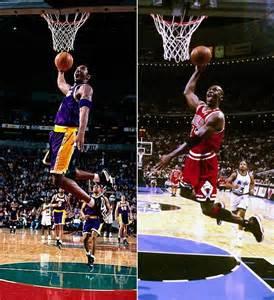 Kobe Bryant vs Michael Jordan Dunk