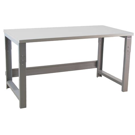 bench pro roosevelt height adjustable stainless steel top