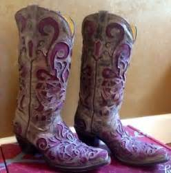 womens corral boots size 9 corral 39 s leather cowboy boots brown crater purple inlay r1081 295 size 7
