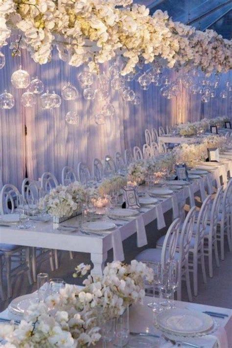 62 extravagant white indoor wedding ceremony 43