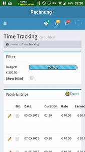 E Plus Rechnung : rechnung free time tracking and invoicing ~ Themetempest.com Abrechnung