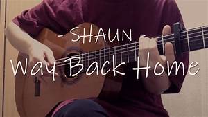 Uc200  Shaun  - Way Back Home  Acoustic Ver   Chords