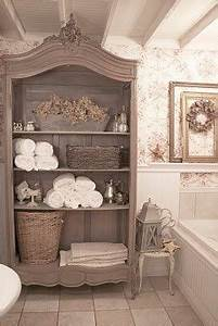 Salon Shabby Chic : d co salon shabby chic storage further ideas i heart ~ Zukunftsfamilie.com Idées de Décoration