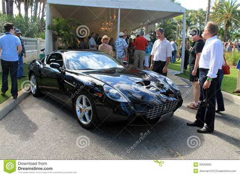 rare sports very rare modern ferrari sports car editorial stock photo