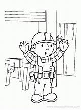 Bob Coloring Robber Builder Printable Template Clipart Library Coloringhome sketch template