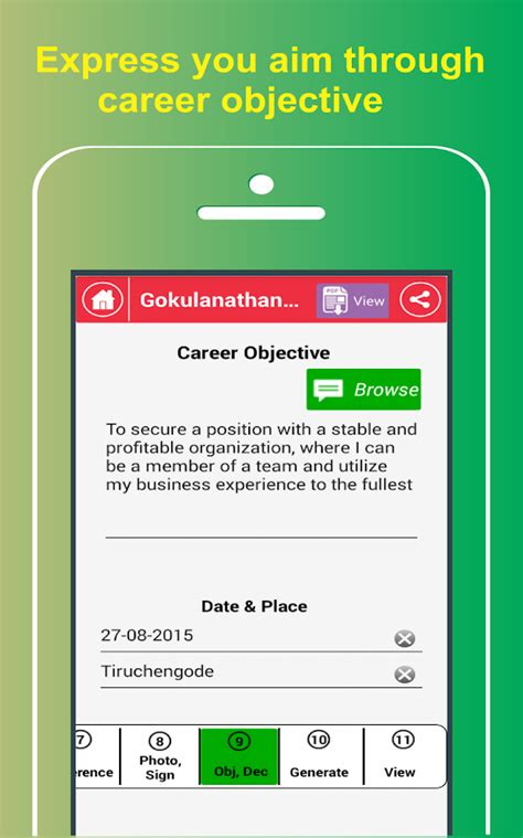 Resume Builder App Free by My Resume Builder Cv Free Android Apps On Play