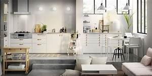 Ikea Cuisine Blanche : cuisine metod ikea tout savoir marie claire ~ Melissatoandfro.com Idées de Décoration