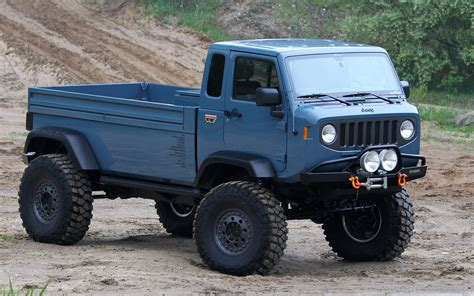 Jeep Mighty Fc Concept Photo Gallery