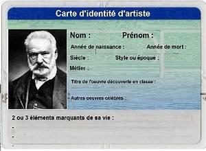 Carte D Identité Provisoire : cartes d identit litt raires ~ Medecine-chirurgie-esthetiques.com Avis de Voitures