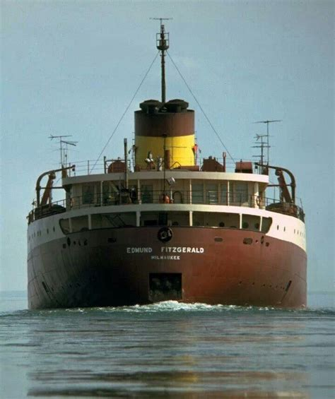 when did the edmund fitzgerald ship sank on november 10 1975 the iron ore carrier ss edmund