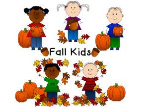 Fall Kids Clip Art