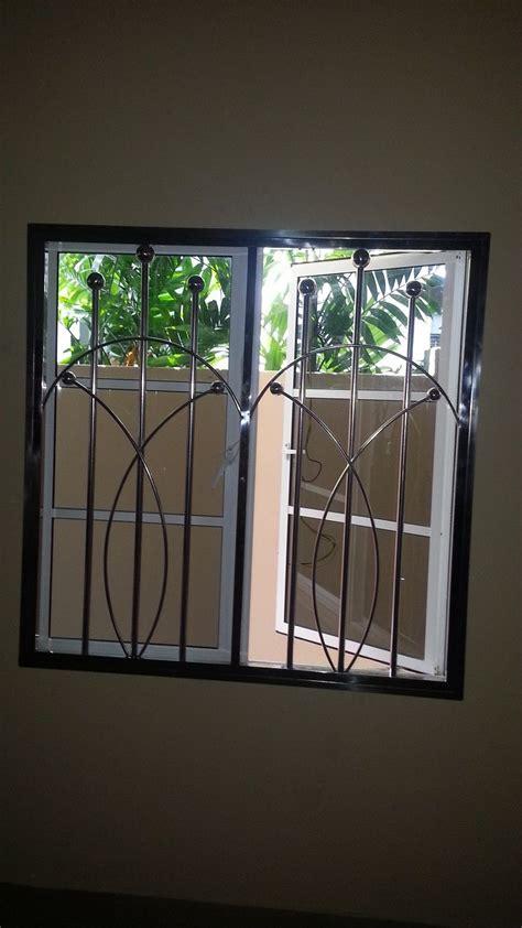 design of steel window grills