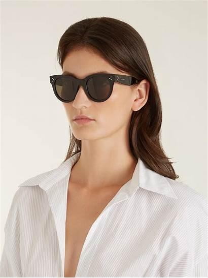 Sunglasses Audrey Acetate Celine Celine Cindy Lyst