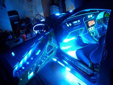 Car Lights Inside by Blue 12 Quot Car Interior Neon Lights Two 2 12 Inch 30cm