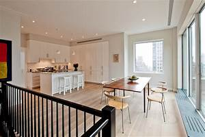 Duplex ph contemporary kitchen new york by atelier for Kitchen colors with white cabinets with nyc sticker printing