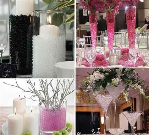 water bead centerpieces wedding stuff pinterest