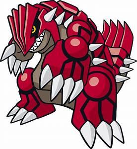 Groudon flavor – Pokémon #383 - veekun