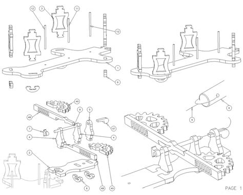 pdf diy clock plans woodworking clock plans dxf plans diy free thimble cabinet