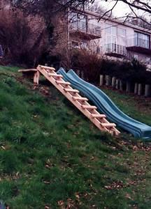 toboggan sur pente jardinage et amenagement du jardin With amenager une terrasse exterieure 14 aire de jeux exterieur 30 idees de maison enfant de jardin