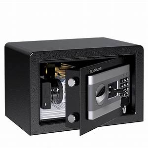 Safe Box  Large Lock Box With Digital Keypad For Home