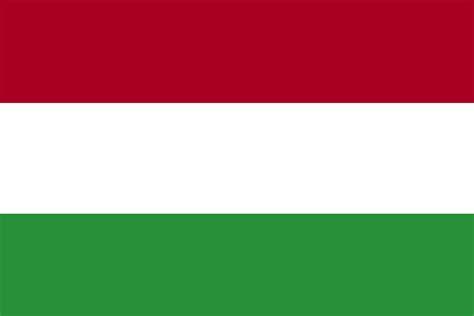 flag  hungary  clipart