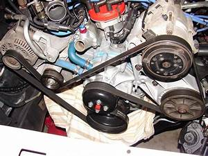 93 F250 351w Smog Pump Delete Completed  W   Belt Size