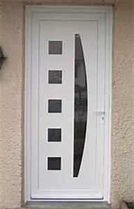 Porte D Entrée Blanche : portes d entr e en neuf ou r novation bois ou panneaux ~ Melissatoandfro.com Idées de Décoration