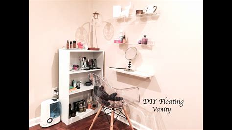 diy floating vanity youtube