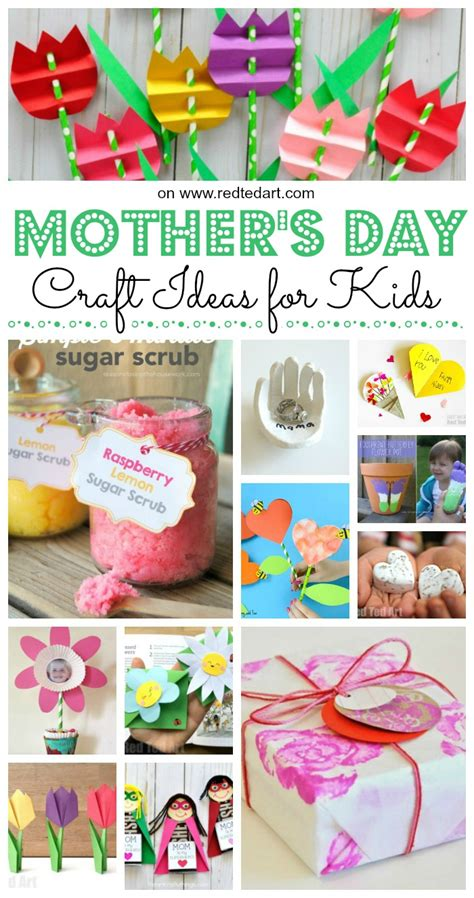 easy s day crafts for to make ted 321 | Mothers Day Crafts for Kids
