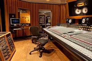 Henson recording studios studio mix control room gallery
