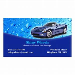 Auto detailing business card zazzle for Business cards for auto detailing